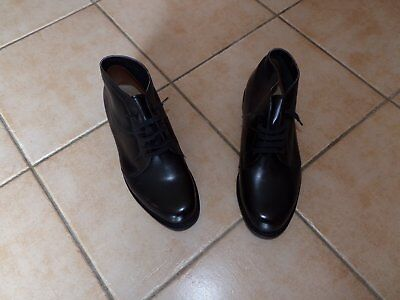 Chaussures Brodequins Pilote Pn Noir Travail Combat Armee Air Chasse Commando