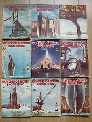 Wonders of World Engineering Magazines Issues 1 to 19