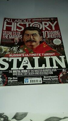 All about history magazine issue 16. Stalin the tyrant.  Ideal for GCSE History