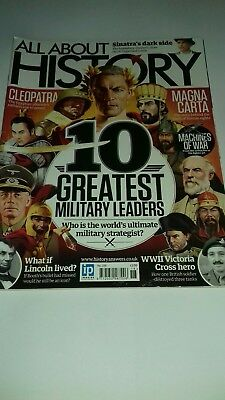 All about history magazine issue 18. Greatest military leaders. GCSE History