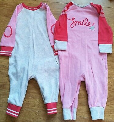 NEXT girls all in one outfits age 6-9 months. Matching set! Very good condition!