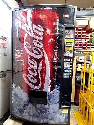 Soda vending machine / cans and 16.9oz bottles