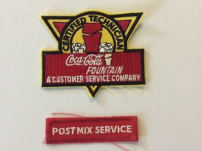 Coca Cola Collectible Certified Technician Patchs