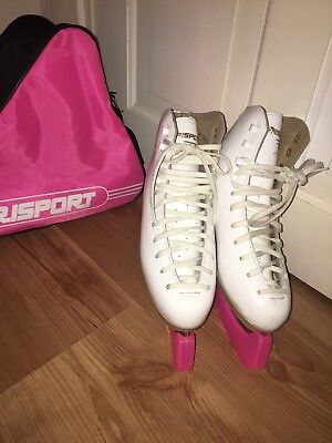 Risport Figure Ice Skates with Bag size 4/3.5 RRP £90