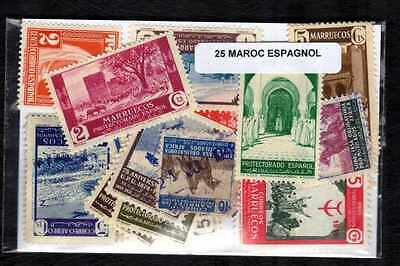Morocco Spanish - Spanish Morocco 25 stamps different
