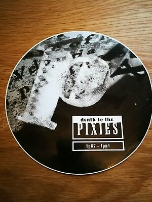 Rare Original Pixies Death To The Pixies 4AD Large Promo Sticker 97 Frank Black