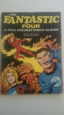 Fantastic Four Album Reprints # 53  -Gd  2Nd Black Panther 1969  World Distr Uk
