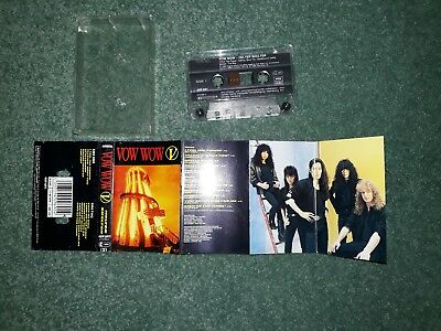 Helter Skelter by Vow Wow audio cassette