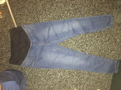New Look Maternity Over Bump Jeggings Size 12