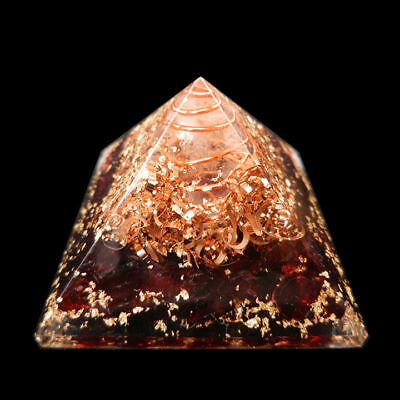 Extra-Large-70-75MM-Red-Garnet-Stone-Orgorne-Natural-Gemstone-Pyramid-Organit