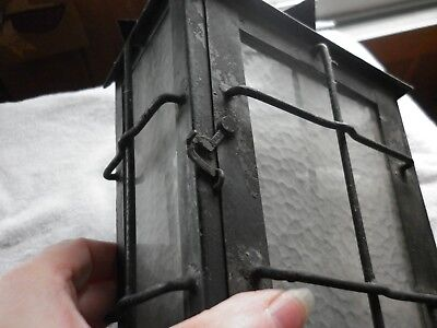 Vintage Tudor Gothic Porch sconce light