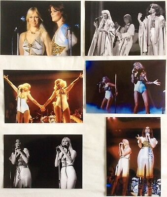 Agnetha & Frida Live Concert Tour 1977 Photo Set 3 *ABBA Faltskog Lyngstad