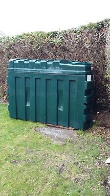 Titan Bunded Oil Tank ES1000B with Watchman Alarm - used but good condition