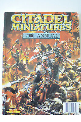 Warhammer Citadel Miniatures 2000 Annual von Games Workshop