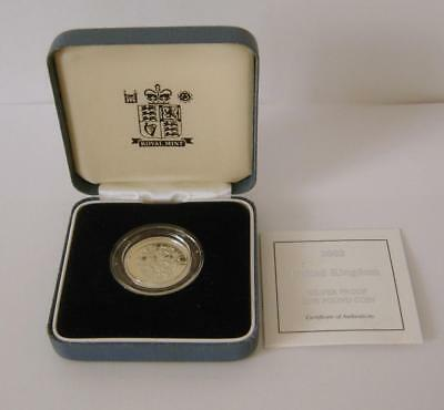 A Royal Mint United Kingdom 2002 Silver Proof £1 Coin