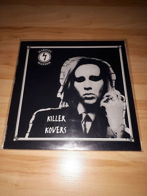 MARILYN MANSON -killer kovers - ultar rare lp,yellow vinyl,SLIPKNOT,Deftones !!!
