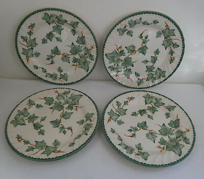 X4 BHS Country Vine Pattern Plates 8 Inch