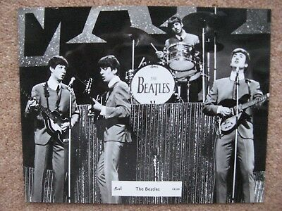 The Beatles 1963 Brel real photograph picture card  ref CS259
