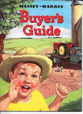 Vintage Massey-Harris Buyers Guide  Sales  Brochure