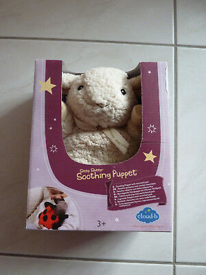 Sleep Sheep Soothing Puppet, Handpuppe, cloud b,  Schaf - NEU OVP  UVP 55,00