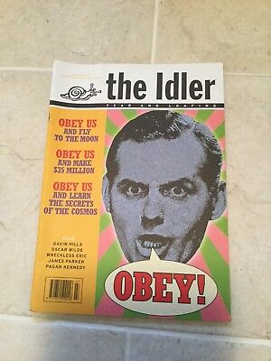 the Idler magazine Issue 16 July - August 1996
