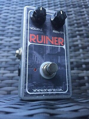 ⭐ Devi Ever Fx RUINER extreme bass fuzz made in Portland mammoth/Hysteria tone ⭐