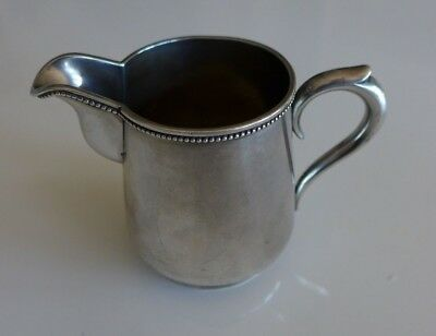 Antique Russian 84 Solid Silver Milk Jug Creamer 7cm - see pictures
