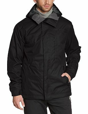 O'NEILL Mens Black District Snow Ski Jacket 8K Waterproof Coat Small BNWT