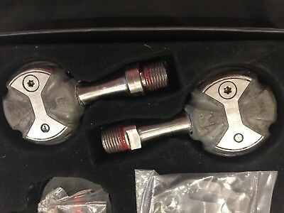 Pair of Speedplay Zero Pedals (no cleats) - Stainless Steel