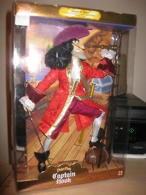 Peter Pan, Captain Hook,  Masters Of Malice Mattel NRFB FACTORY SEALED