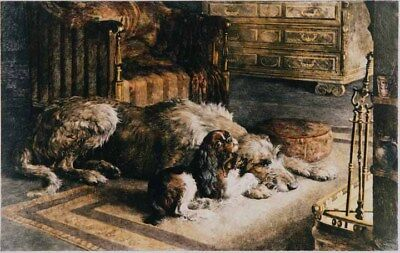 Irish Wolfhound Print - Fire Worshippers