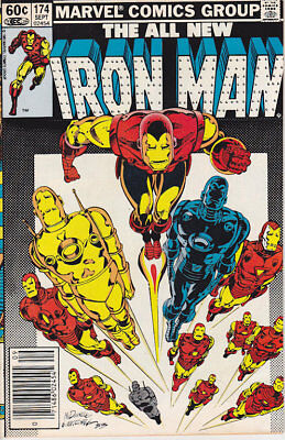 Iron Man #174 Marvel Comics 1983 FN Combined Shipping