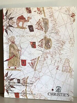 Christie's London Catalog 1995 Valuable Atlases Travel and Natural History Books