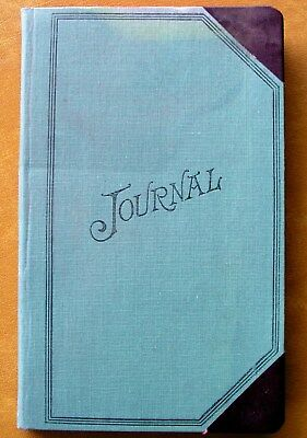 Vintage UNUSED Wilson Jones S748 Pioneers Shaws Miniature Account Book Journal