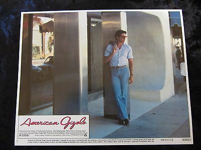 AMERICAN GIGOLO  lobby cards  - RICHARD GERE (1980)