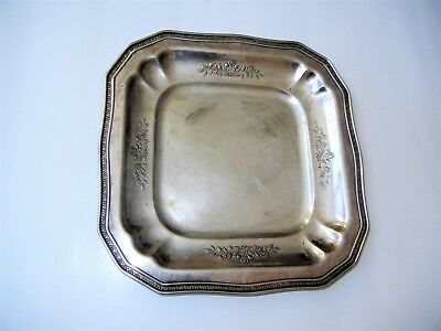 Vintage Mulholland EPNS Silver-plated Tray 18% Nickel base #2030