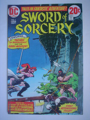 3x SWORD of SORCERY 1, 4, 5 WALT SIMONSON Gorgeous 20-pages + 1 cvr. ALL PERFECT