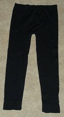 Girls One Size (7-10) Black Footless Tights by One Step Up L@@K
