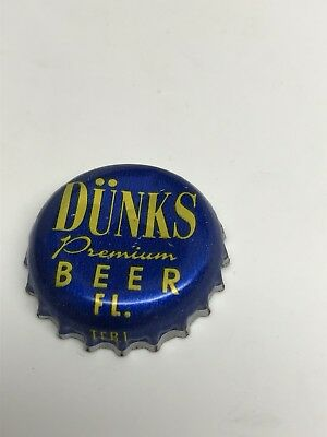 Dunk's Premium Beer - Florida Beer Bottle Cap