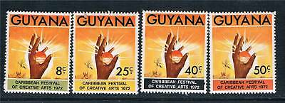 Guyana 1972 Festival of Arts SG 573/6 MNH