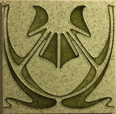 Art Nouveau Jugendstil Tile German