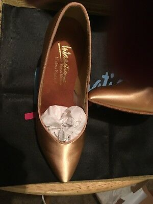 International dance shoes (Gold) European Size 6N... which translates to 8Medium
