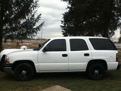 2005 Chevrolet Tahoe  05 Chevy Tahoe, Police 9C4 Package , All power options, New Tires, Clean, Flex