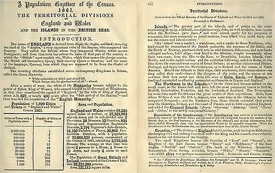 Great Britain Census Office Genealogy Population Demography Book Scans  DVD-ROM
