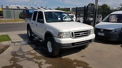 2005 Ford Courier Duel Cab Ute 4x4 LOW KMS