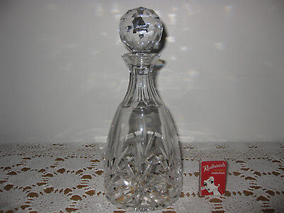 Stunning LEAD CRYSTAL DECANTER Spirits Whisky Rum Cognac Port STUART CRYSTAL??