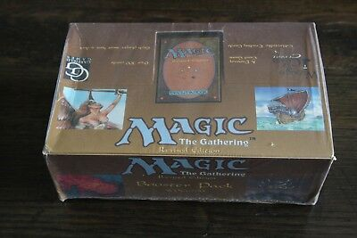Magic The Gathering MTG Revised (3rd edition) booster box