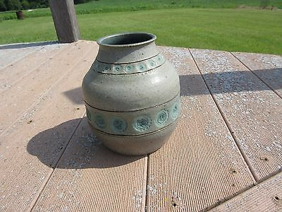 Ceramic Stoneware Vase : Arts and Crafts : Maker and Time Period Unknown