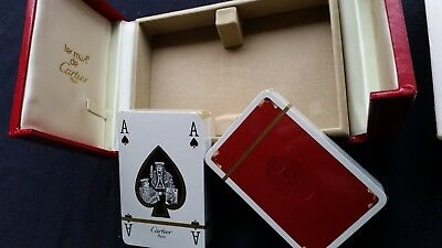 Cartier playing cards set. New Old. 1972 original. Never used.