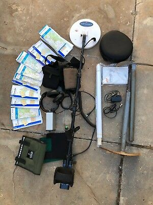 Minelab GPX-4500 Metal Detector, 25+ Topographical Maps Plus Extras